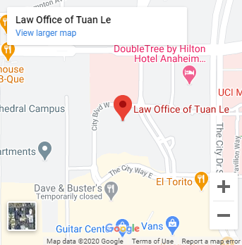 Law Office of Tuan Le- location